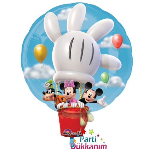 Mickey Mouse Hot Air Folyo Balon (Büyük) 28 inç