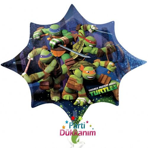 Ninja Turtles Folyo Balon 88 cm