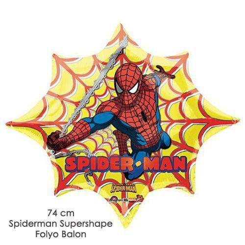Spiderman Folyo Balon 74 cm