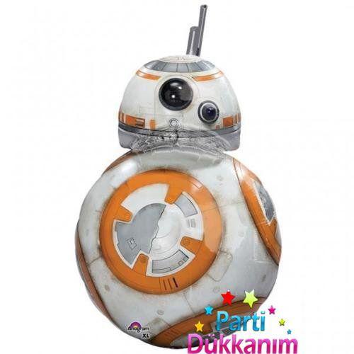 Star Wars Robot BB-8 Folyo Balon (Super Shape)