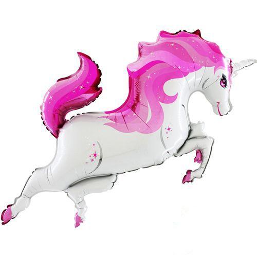 Unicorn Folyo Balon Pembe (48 inch), fiyatı