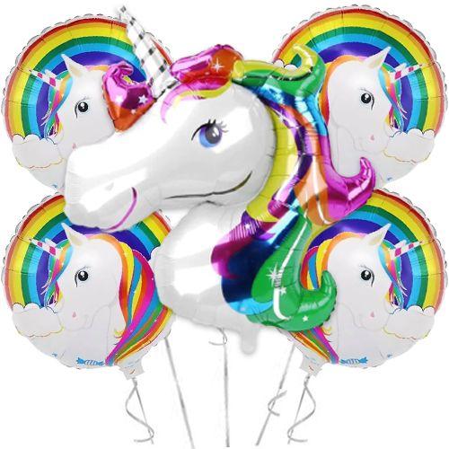 Unicorn Folyo Balon Renkli (48 inch), fiyatı