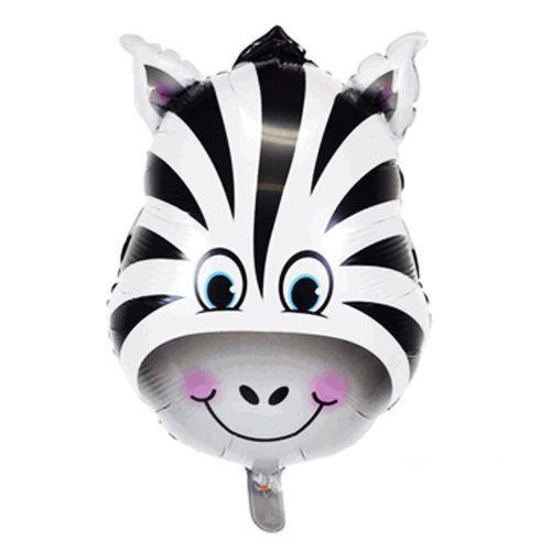 Zebra Folyo Balon (55 cm)