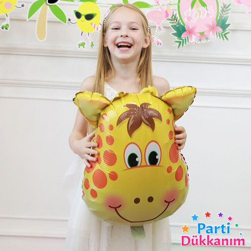 Zürafa Folyo Balon (55 cm), fiyatı