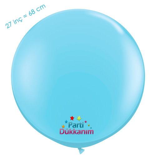 27 İnc Jumbo Balon Açık Mavi