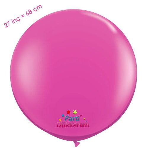 27 İnc Jumbo Balon Fuşya