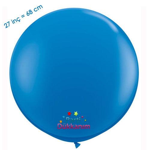 27 İnc Jumbo Balon Mavi, fiyatı