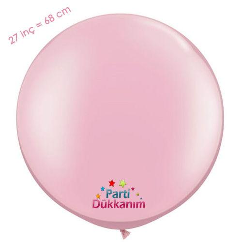 27 İnc Jumbo Balon Pembe