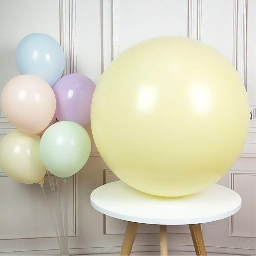 36 İnch Jumbo Makaron Balon Sarı, fiyatı