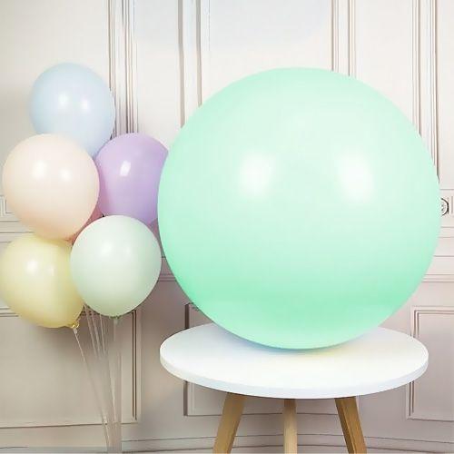 36 İnch Jumbo Makaron Balon Su Yeşili, fiyatı