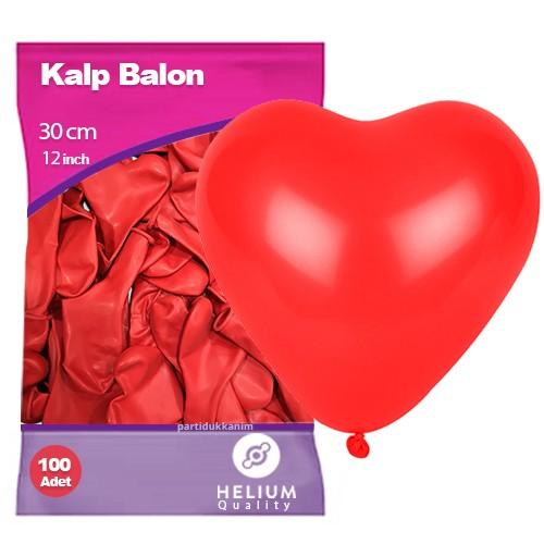 Kalpli Kırmızı Balon (50 adet)