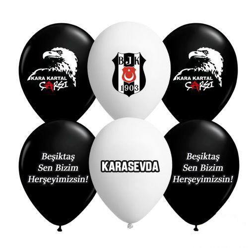 Beşiktaş Lisanslı Balonu (20 adet)