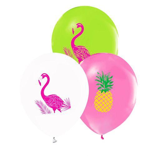 Flamingo Ananas Balon (15 adet), fiyatı