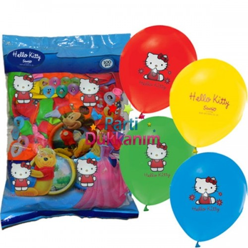Hello Kitty Balon (100 Adet)
