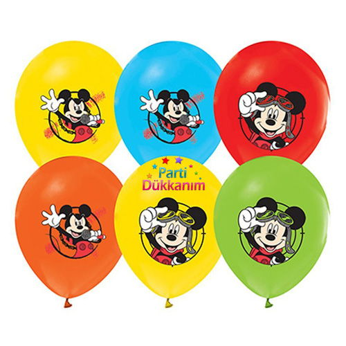 Mickey Mouse Balon Club 15 Adet