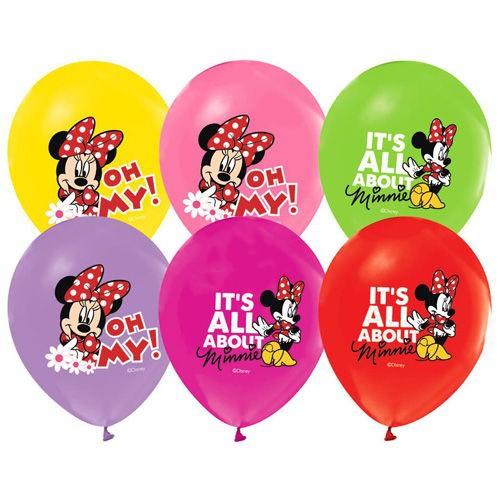 Minnie Mouse Balon 15 Adet