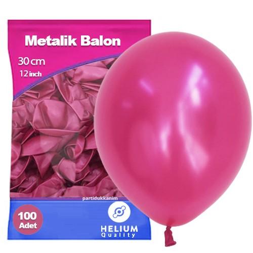 Fuşya Balon Sedefli 100 Adet