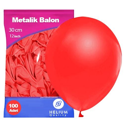 Kırmızı Balon Sedefli 100 Adet