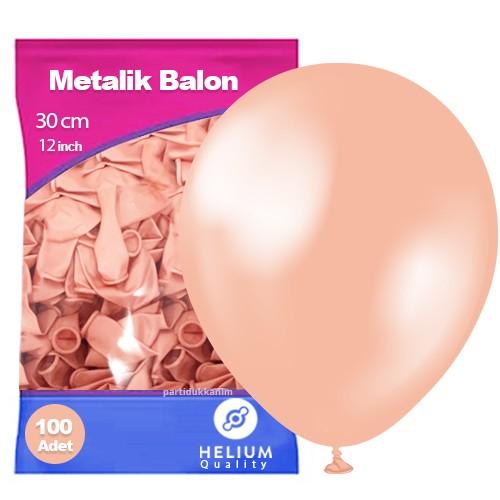 Rose Gold Balon Sedefli 100 Adet