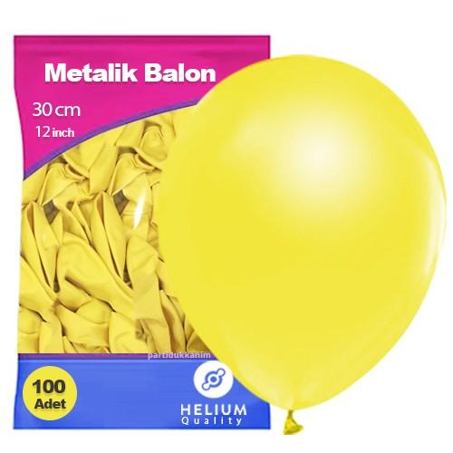 Sarı Balon Sedefli 100 Adet