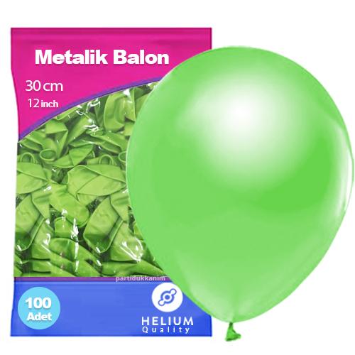 Fıstık Yeşili Balon Sedefli 100 Adet
