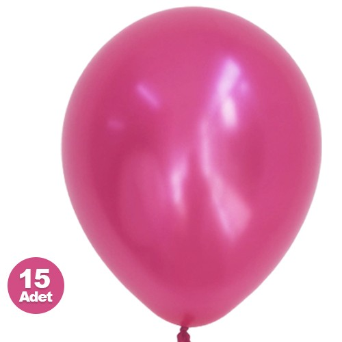 Fuşya Balon Sedefli 20 Adet
