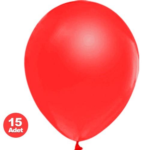 Kırmızı Balon Sedefli 20 Adet