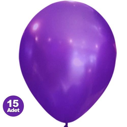 Mor Balon Sedefli 20 Adet
