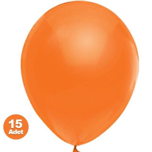 Turuncu Balon Sedefli 20 Adet