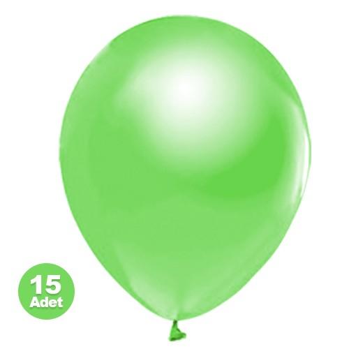 Fıstık Yeşili Balon Sedefli 20 Adet