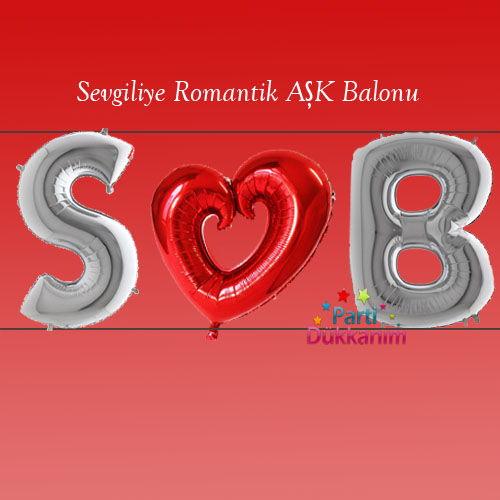 Sevgiliye Romantik AŞK Balonu