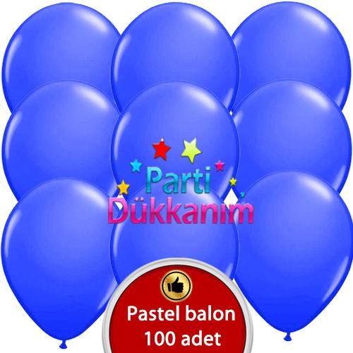 Mavi Balon 100 Adet
