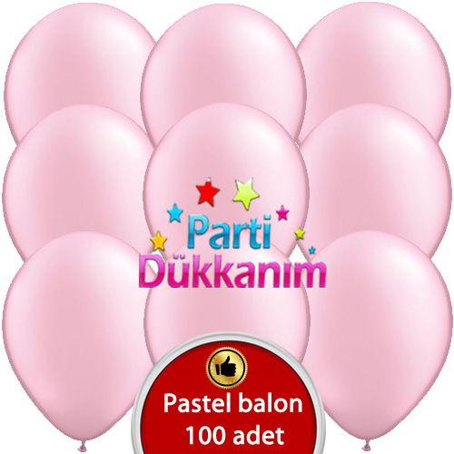 Pembe Balon 100 Adet