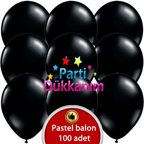 Siyah Balon (100 adet), fiyatı