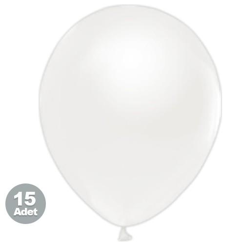 Beyaz Balon 15 Adet, fiyatı
