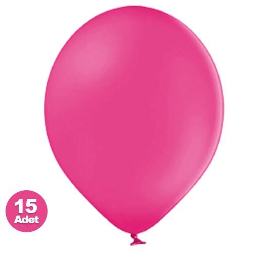 Fuşya Balon 15 Adet