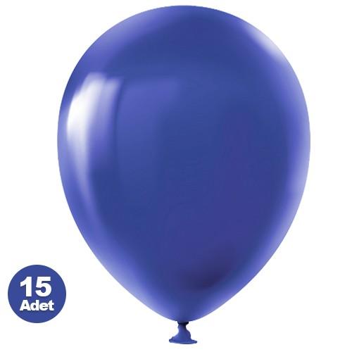 Mavi Balon 15 Adet