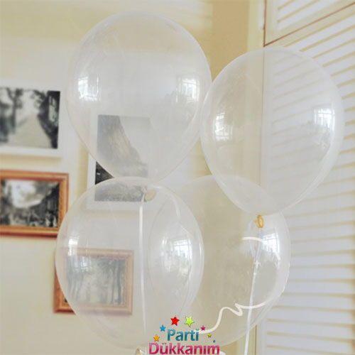 Şeffaf Balon 15 Adet, fiyatı