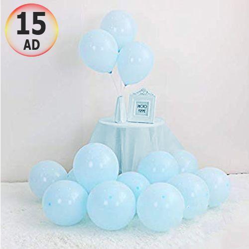 Makaron Balon Mavi 15 Adet, fiyatı