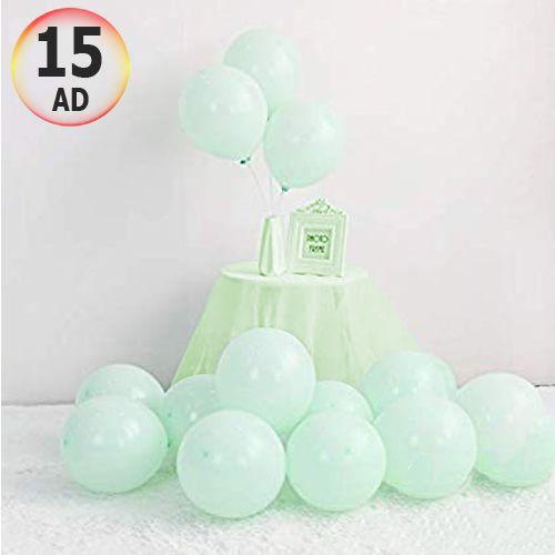 Makaron Balon Mint Yeşili 15 Adet, fiyatı