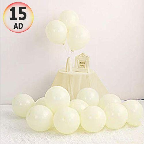 Makaron Balon Sarı 15 Adet, fiyatı