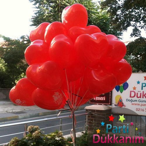 Kalpli Uçan Balon Demeti 30 adet MAĞAZADAN