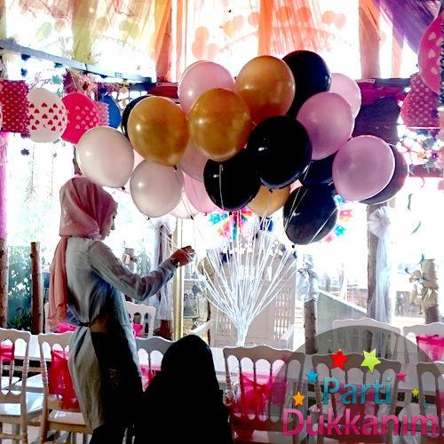 Doğum Günü Uçan Balon Süslemesi MAĞAZADAN