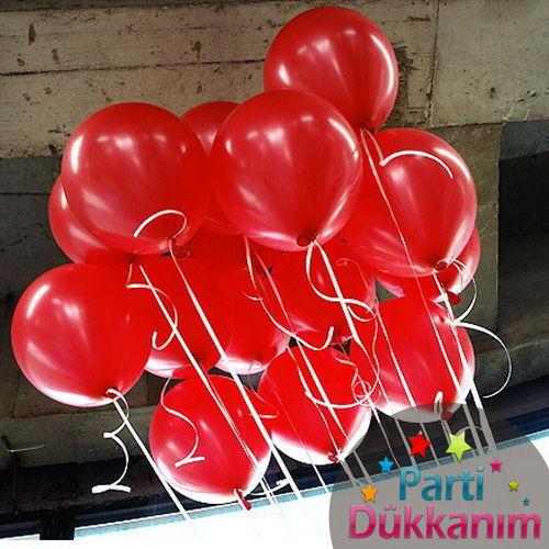 Kırmızı Uçan Balon Demeti 15 Adet MAĞAZADAN, fiyatı