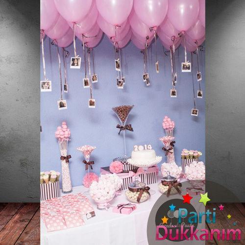 Pembe Sedefli Uçan Balon 30 Adet MAĞAZADAN, fiyatı
