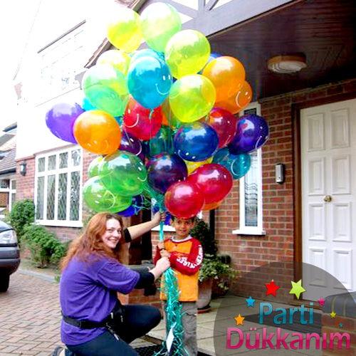 Anadolu Yakası Uçan Balon 35 adet MAĞAZADAN