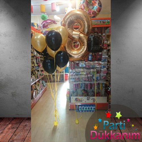 8 Yaş Gold Uçan Balon MAĞAZADAN, fiyatı