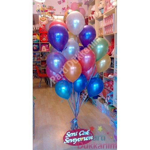Sevgiliye Sürpriz Uçan Balon (MAĞAZADAN) (30 Adet)