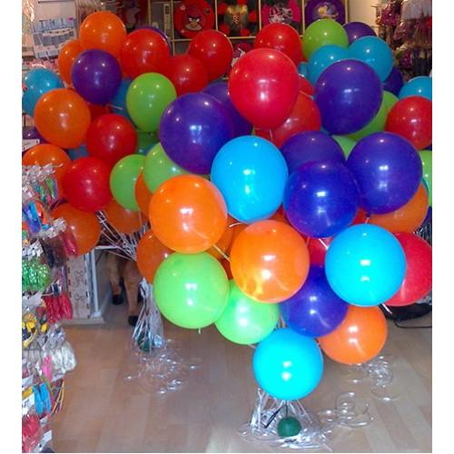 Rengarenk Uçan Balon Demeti (50 adet) MAĞAZADAN