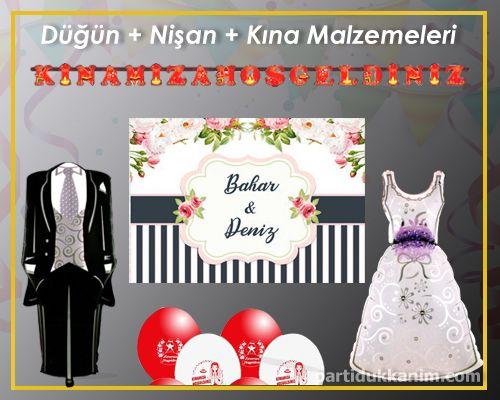 Düğün + Nişan + Kına Malzemeleri